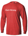 ZSTRONG- Heathered Softstyle Long Sleeve Shirt