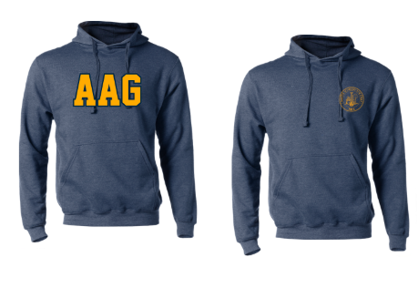 AAG- Tradition Hoodie, Logo choice