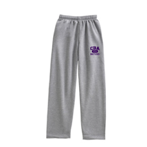 CBA- Open Bottom Sweatpants