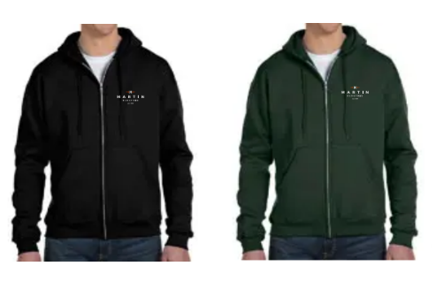 MartinElectric- Champion®Double Dry Eco® Full-Zip Hood