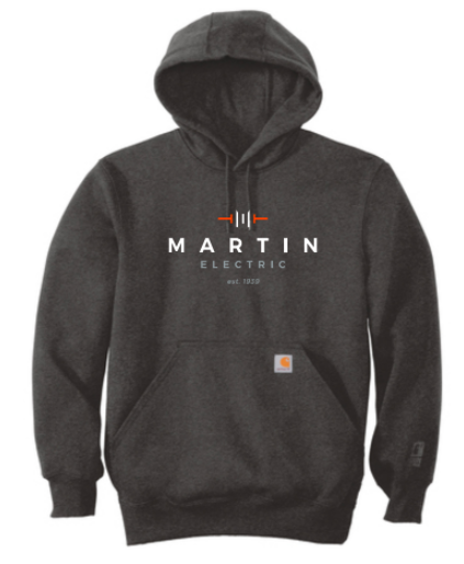 MartinElectric- Carhartt ® Rain Defender ® Paxton Heavyweight Hooded  Sweatshirt