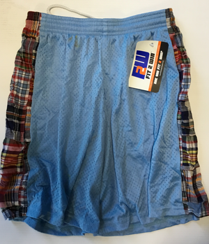 ATTIC20- Fit2Win Lacrosse Shorts, Madras Plaid