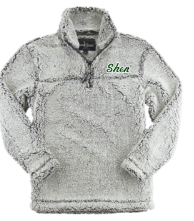 SPLNSGW- Frosted Sherpa pullover *SALE/Limited Quantities*