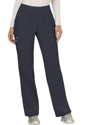 aent- Ladies Mid Rise Straight Leg Pull-On Pant