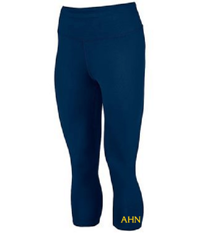 AHN- Ladies Hyperform Compression Capri