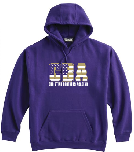 CBA- Patriotic Hooded Sweatshirt