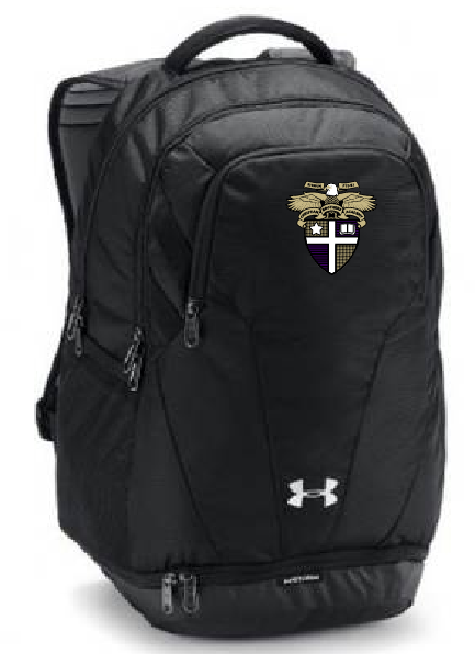 CBA20Holiday- Under Armour® Hustle Backpack 3.0 with Name option