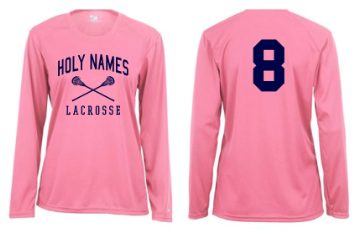 HNLAX009- Long Sleeve Warm Up Performance Shirt