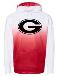 GuildElem- Adult & Youth Ombre Performance Hoodie