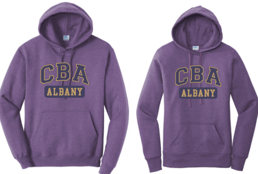CBA- Core Fleece Pullover Hooded Sweatshirt, Adult & Ladies