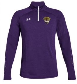 CBA- Under Armour Qualifier Hybrid 1/4 Zip, NEW!