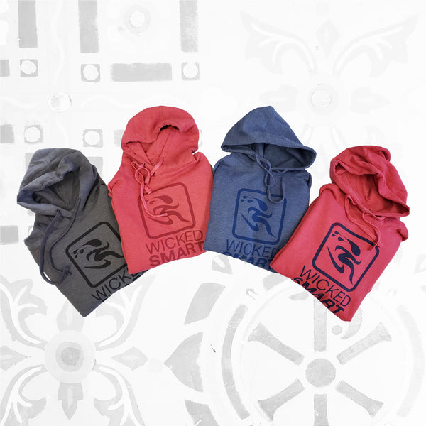 WSStudio21- WICKED SMART Favorite Hoodie, Classic Logo Collection