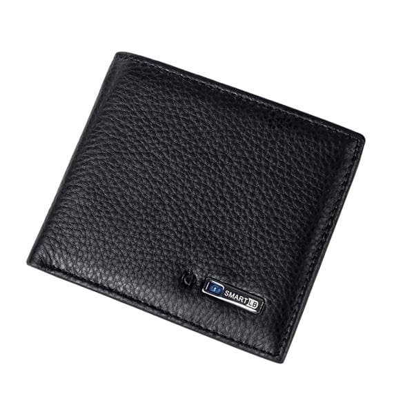 Leather Smart Wallet For Ios/android - Black - Wallets | The Guys Spot