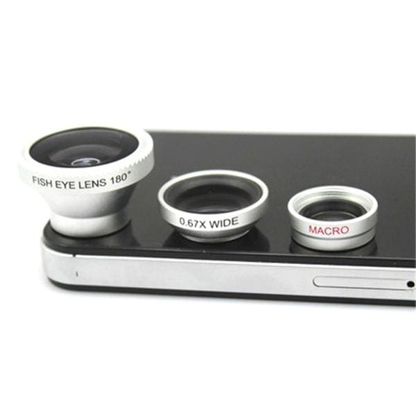 Magnetic Lens Camera - Silver - Gadgets | The Guys Spot