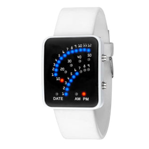 Prometheus Led Watch - White - Digital Watch | The Guys Spot