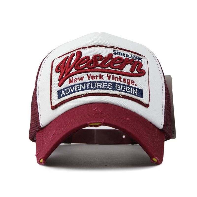 Western Trucker Cap - Trucker Cap | The Guys Spot