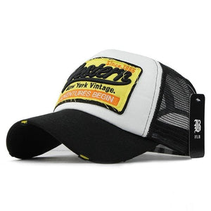 Western Trucker Cap - Black - Trucker Cap | The Guys Spot