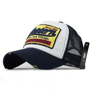 Western Trucker Cap - Navy - Trucker Cap | The Guys Spot