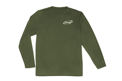 "Long Sleeve ""Posicharge"" Performance Shirts"