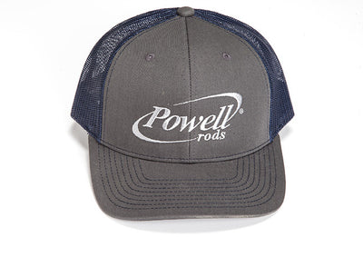 Snap Back Gray / Navy Hat
