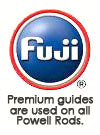 Fuji Premium Guides are used on all Powell Rods