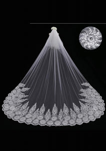 Cathedral Length Veil style 7