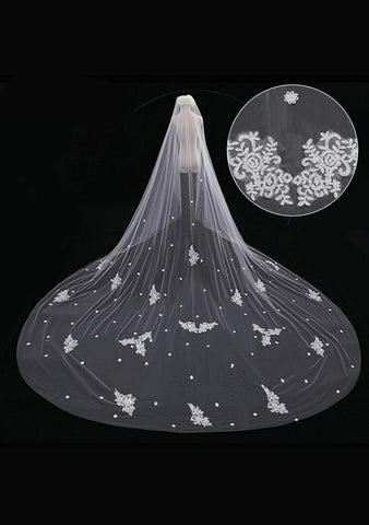 Cathedral Length Veil style 9