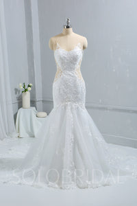 Ivory Mermaid Wedding Dress