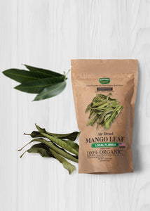 Air Dried Organic Mango Leaf