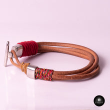 Load image into Gallery viewer, Braided Leather Cords - kavakbrand, handmade jewelry, fashion, jewelry for women, jewelry for men, unique jewelry, custom jewelry, jewelry designer, jewelry