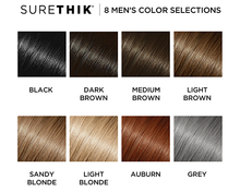 Load image into Gallery viewer, SureThik® Hair Thickening Fibers  for Men (30g/1.06oz)