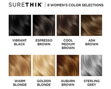 Load image into Gallery viewer, SureThik® Hair Thickening Fibers for Women (15g/0.53oz)