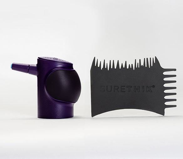 Women's Twist-On Pump Applicator & Styling Comb