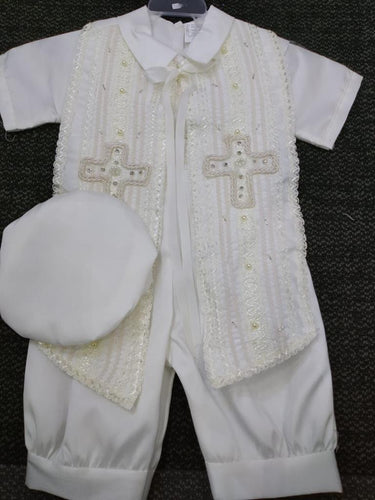 Baptism boys outfit-P-BB140