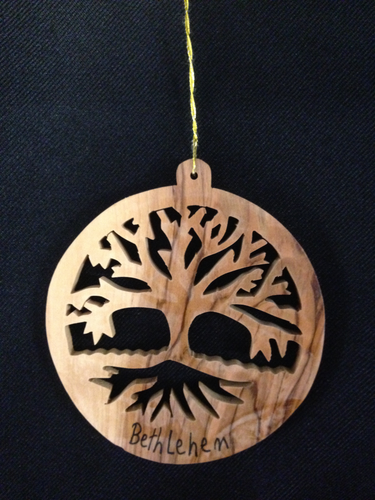 Olive Wood Christmas Decor - CD4