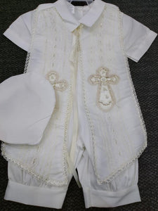 Baptism boys outfit-P-BB144