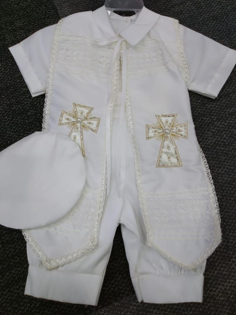 Baptism boys outfit-P-BB142