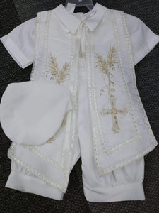 Baptism boys outfit-P-BB143
