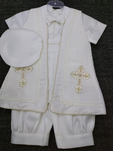 Baptism boys outfit-P-BB147