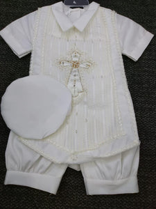 Baptism boys outfit-P-BB139