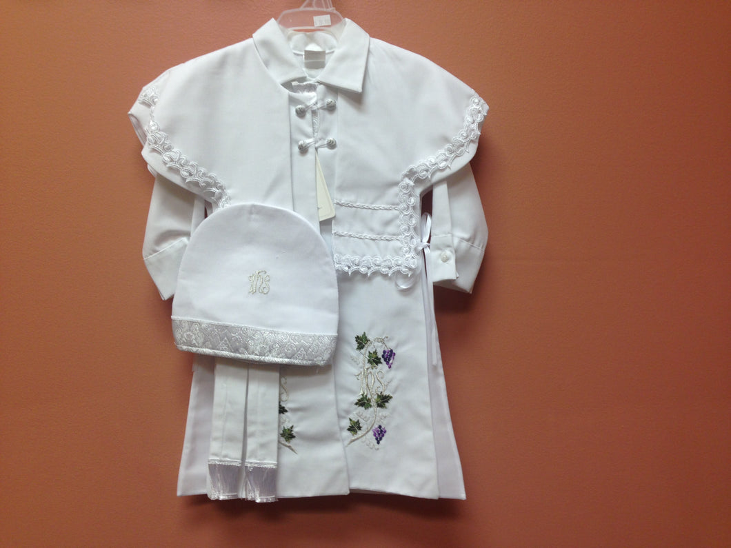 Baptism Boy Outfit - BB6