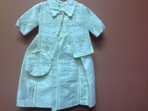 Baptism Boy Gown