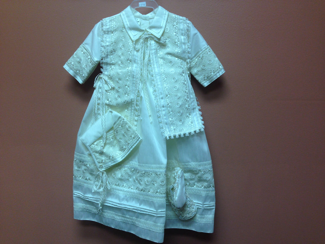 Baptism Boys Gown - BB26