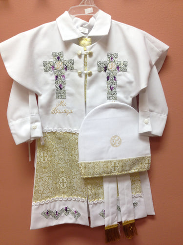 Baptism Boy Gown- # - BB27