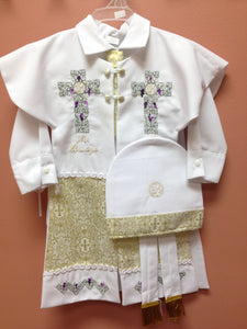 Baptism Boy Gown - BB27
