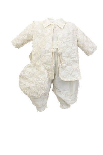 Baptism boys outfit-P-BB135