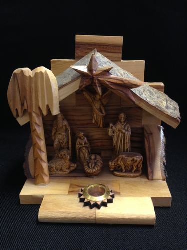 Olive Wood Christmas Decor - CD10