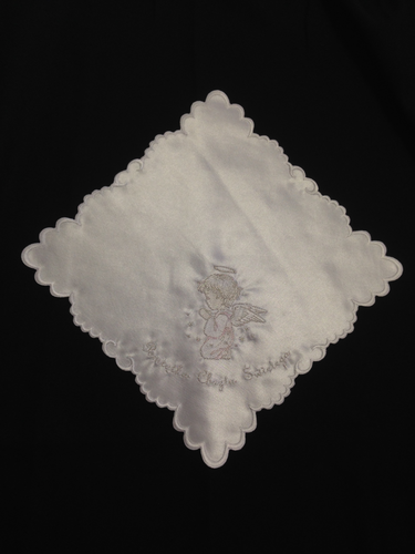 Polish Handkerchief For Baptism - BT11