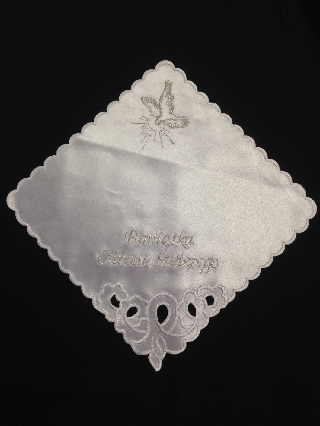 Polish Handkerchief For Baptism