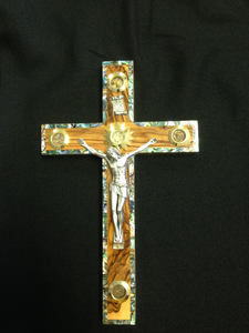 Olive Wood Cross - CG12